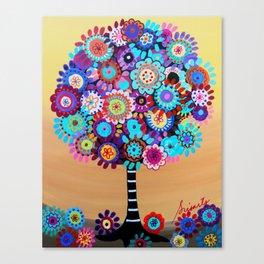 TREE OF LIFE BAR BAT MITZVAH PAINTING Canvas Print