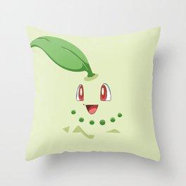 Chikorita Throw Pillow