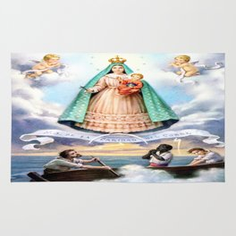Virgen de N.S. de La Caridad del Cobre (Patrona de de la Isla de Cuba) Rug