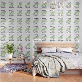 Roar Vegan Lifter Elephant Wallpaper