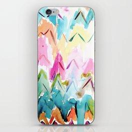 COLOR SPLURGE Chevron Waves iPhone Skin