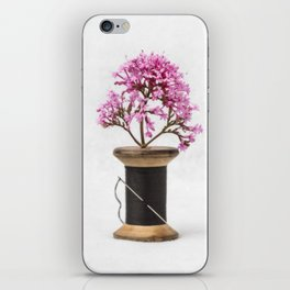 Wooden Vase iPhone Skin