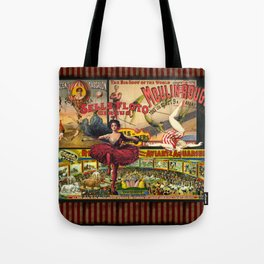 The Circus is in Town Tote Bag