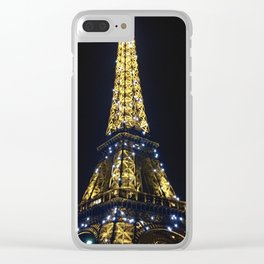 Twinkling Tower Clear iPhone Case
