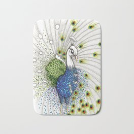 Pavo Real Bath Mat