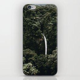 Waterfall / Costa Rica iPhone Skin