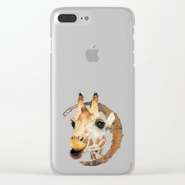 """Chew"" 2 Clear iPhone Case"