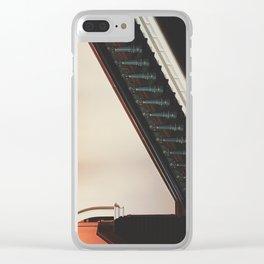 Ypwyrd Pyth Clear iPhone Case