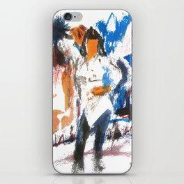 Pulp Fiction dance iPhone Skin