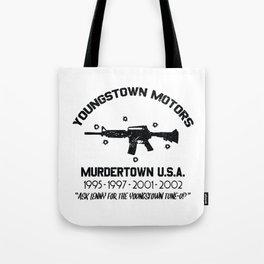 Youngstown Motors Tote Bag