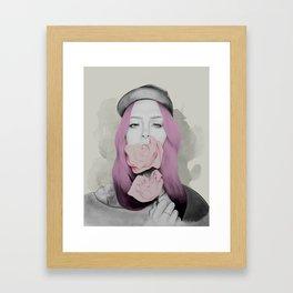 BITTEN Framed Art Print