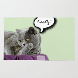 DRUNKY CAT Rug