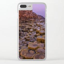 When the sun raises Clear iPhone Case
