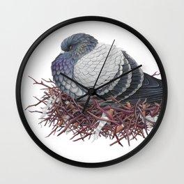 Rock Pigeon Wall Clock
