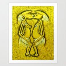 Lovem ui tumas  Art Print