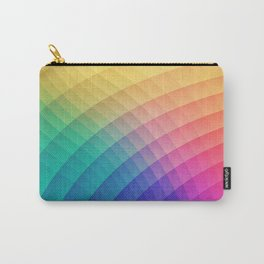 Spectrum Bomb! Fruity Fresh (HDR Rainbow Colorful Experimental Pattern) Carry-All Pouch