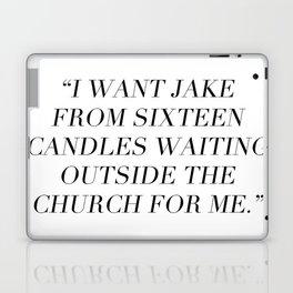 Sixteen Candles Laptop & iPad Skin
