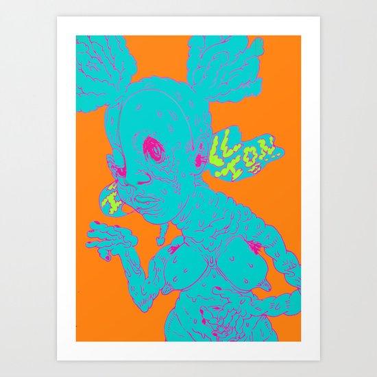 iclltons... Art Print