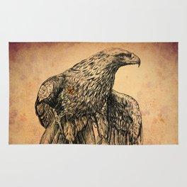 Falcon illustration Rug