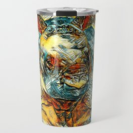 AnimalArt_Rhino_20171201_by_JAMColorsSpecial Travel Mug