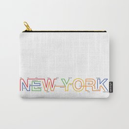 Subway NY Carry-All Pouch