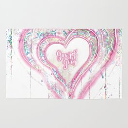 Guard Your Heart Rug