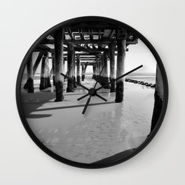 Under The Boardwalk Wall Clock