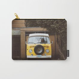 Yellow Van Ready For Road Carry-All Pouch