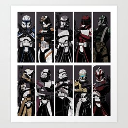 Commanders and Captains Art Print