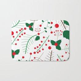 mistletoe Bath Mat