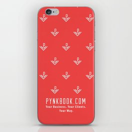 Pynkbook iPhone case iPhone Skin