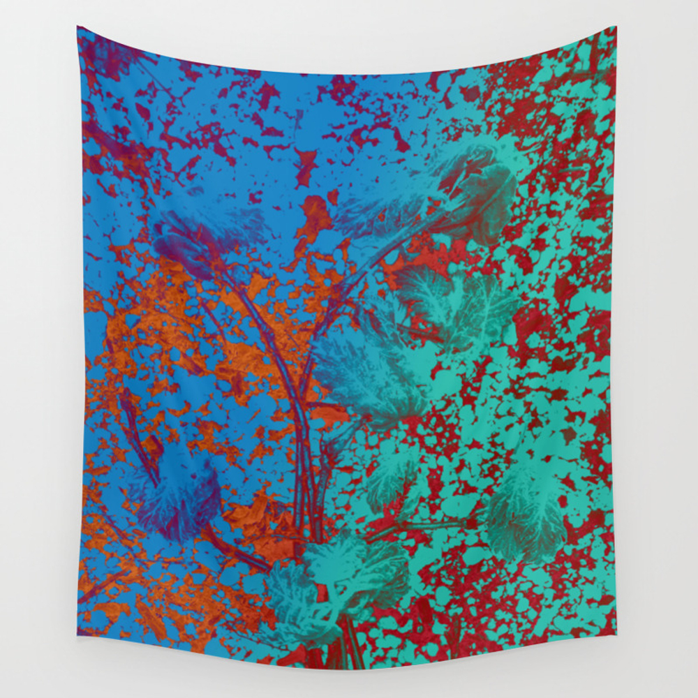 Vibrant Matters Wall Tapestry by Velvetwater TPS8979504