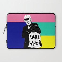 KARL WHO Laptop Sleeve