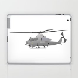 American Grey Attack Helicopter Laptop & iPad Skin