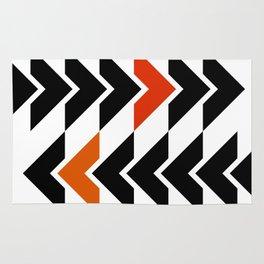 Arrows Graphic Art Design Rug