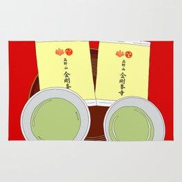 Tea Ceremony in Koyasan, Japan Rug