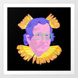 Party Chomsky Art Print