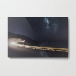 Bixby Bridge Metal Print
