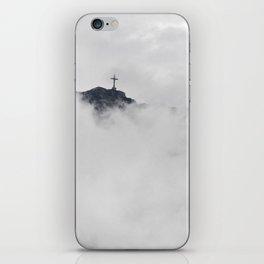 Foggy Faith iPhone Skin