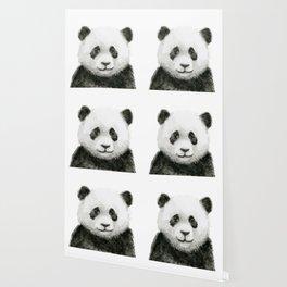 Baby Panda Watercolor Wallpaper