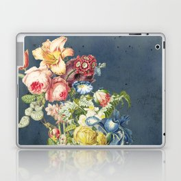 Floral Tribute to Louis McNeice Laptop & iPad Skin