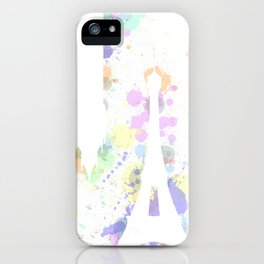 Colors of London & Paris  iPhone Case