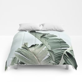 banana leaves Comforters