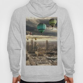Flying High - Digital Art Hoody