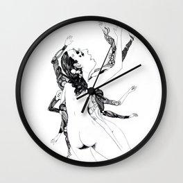 mechashiva Wall Clock