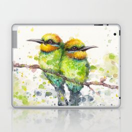 Family (Rainbow Bee Eaters) Laptop & iPad Skin