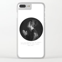 MATTY HEALY // LOSING YOURSELF Clear iPhone Case