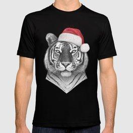 Christmas Tiger T-shirt