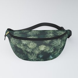 Forest from above - Landscape Photography Fanny Pack