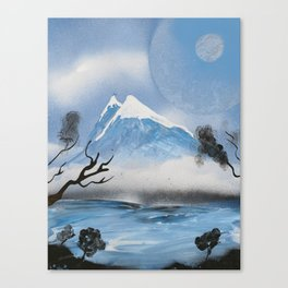 The Mountain and Sky Canvas Print